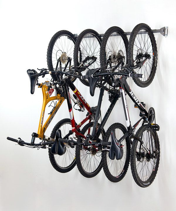 Look at this Gray Four-Bike Storage Rack on #zulily today!