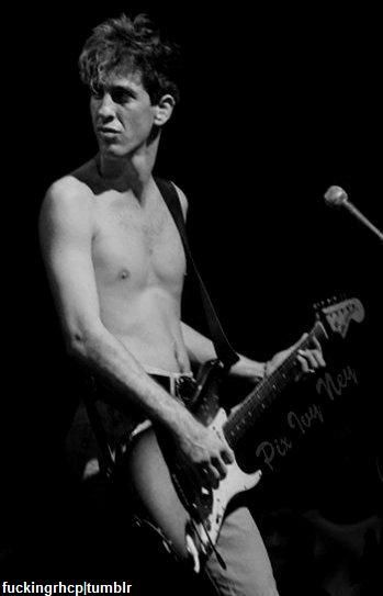Hillel Slovak (1962 - 1988) was an Israeli-American musician best known as the original guitarist and a co-founder of The Red Hot Chili Peppers. Slovak developed a serious heroin addiction. He attempted to quit the drug many times, but ultimately succumbed to his addiction, dying of an overdose on June 25, 1988 at age 26: