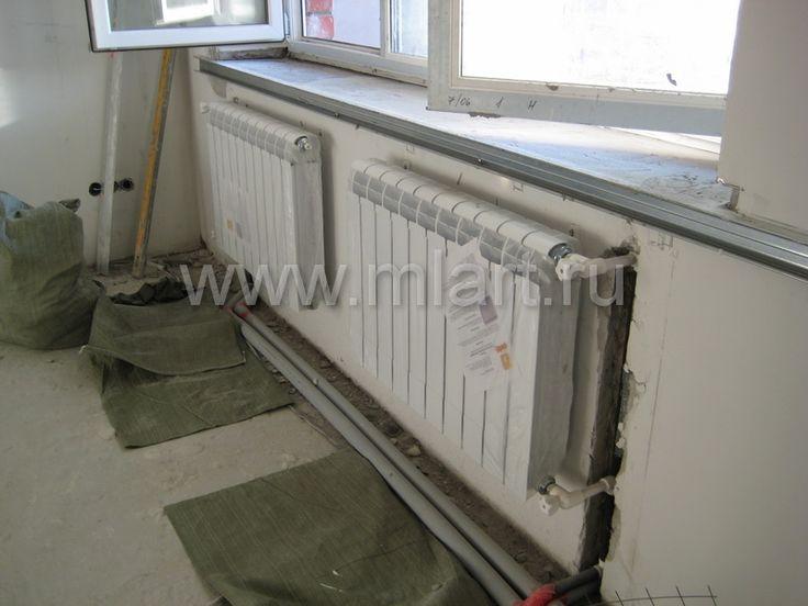 установка радиаторов отопления - Google Хайлт