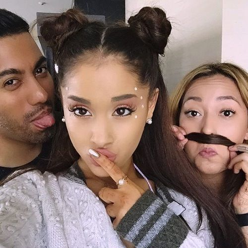 Ariana Grande Space Buns