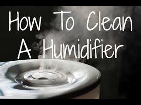 How to clean your humidifier   How to clean vicks humidifier