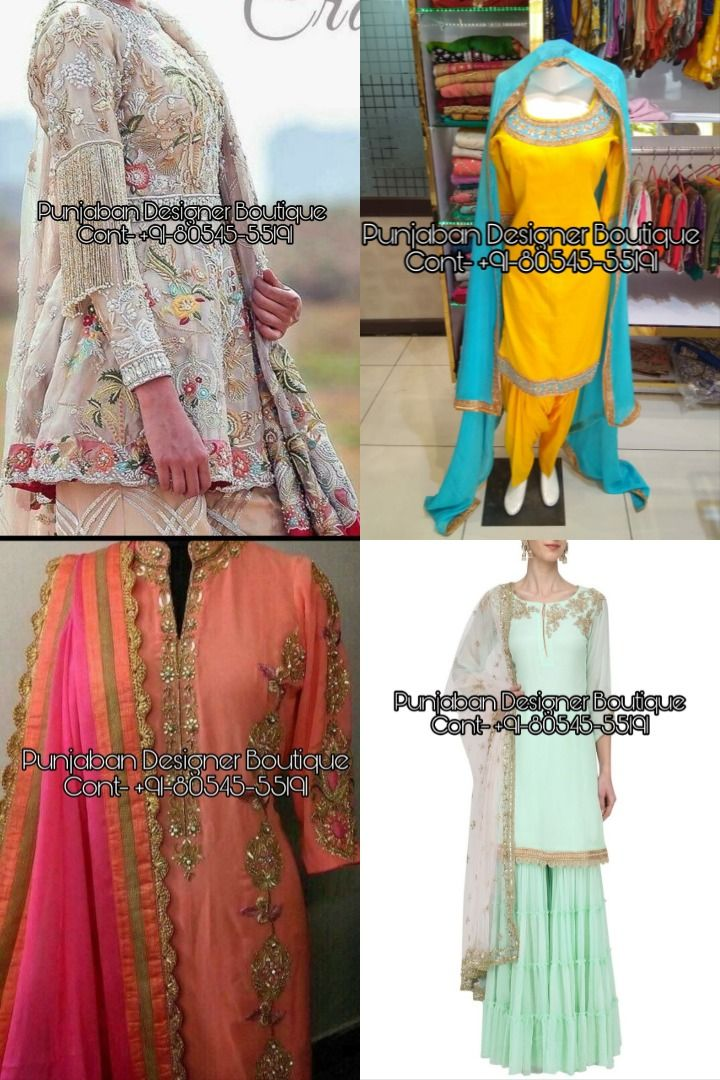 Buy Punjabi Suit For Various Ocassions In India Shop From The Latest Collection Of Punjabi Sui In 2020 Designer Salwar Suits Suits Online Shopping Salwar Suits Online