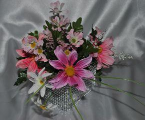 helenium and heather flower pen bouquet: Pens Bouquets, Heather Flower, Wedding Bouquets, Weddings Bouquets, Flower Pens, Bouquets Boutiques