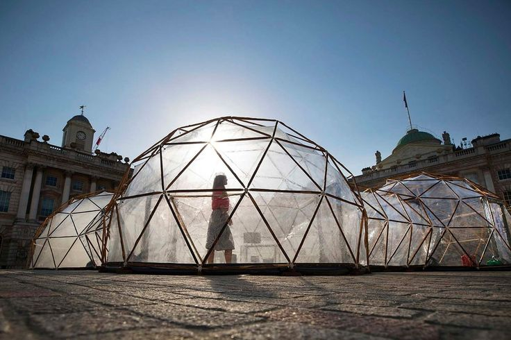 Pollution Pods Installation Michael Pinksy London Somerset House environment climate change contaminated cities Norway London New Delhi Beijing São Paulo Art For Change, Artistic Installation, London Transport, Somerset, The Guardian, Climate Change, New Art