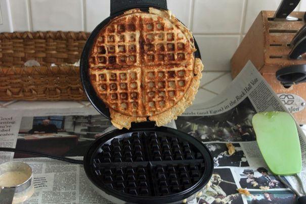 Banana Nut Waffles from The Amateur Gourmet. http://punchfork.com ...