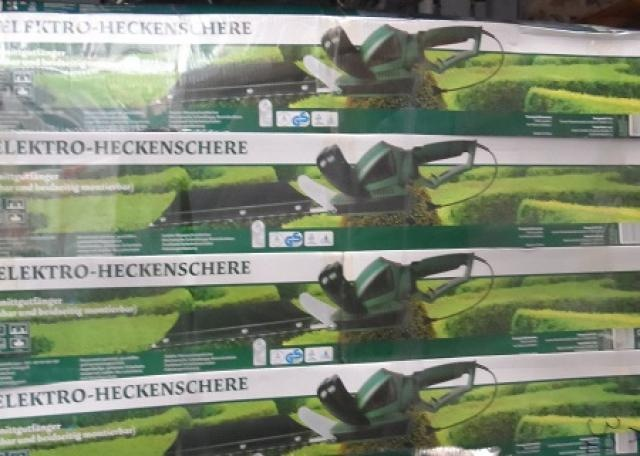 Hedge trimmer - only 12.00 Euro per piece! http://www.restposten.de/article-12125785.html