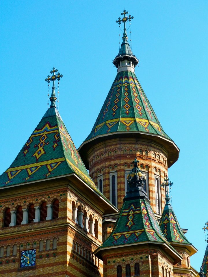 Church in Timisoara, Romania