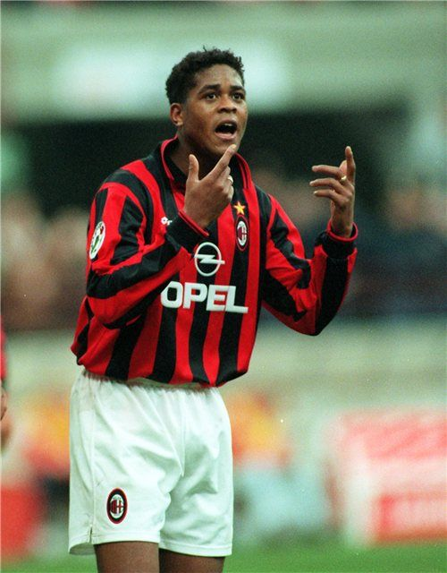 Patrick Kluivert, AC Milan (1997–1998, 27 apps, 6 goals)