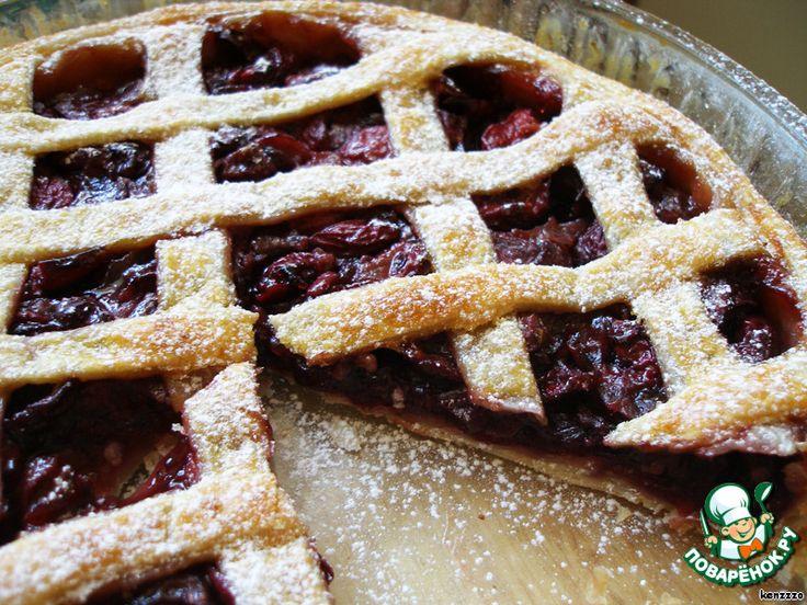 Слоеный пирог с черешней ингредиенты
