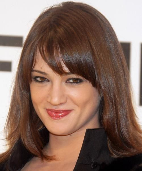 Awesome 1000 Ideas About Medium Hairstyles With Bangs On Pinterest Short Hairstyles Gunalazisus