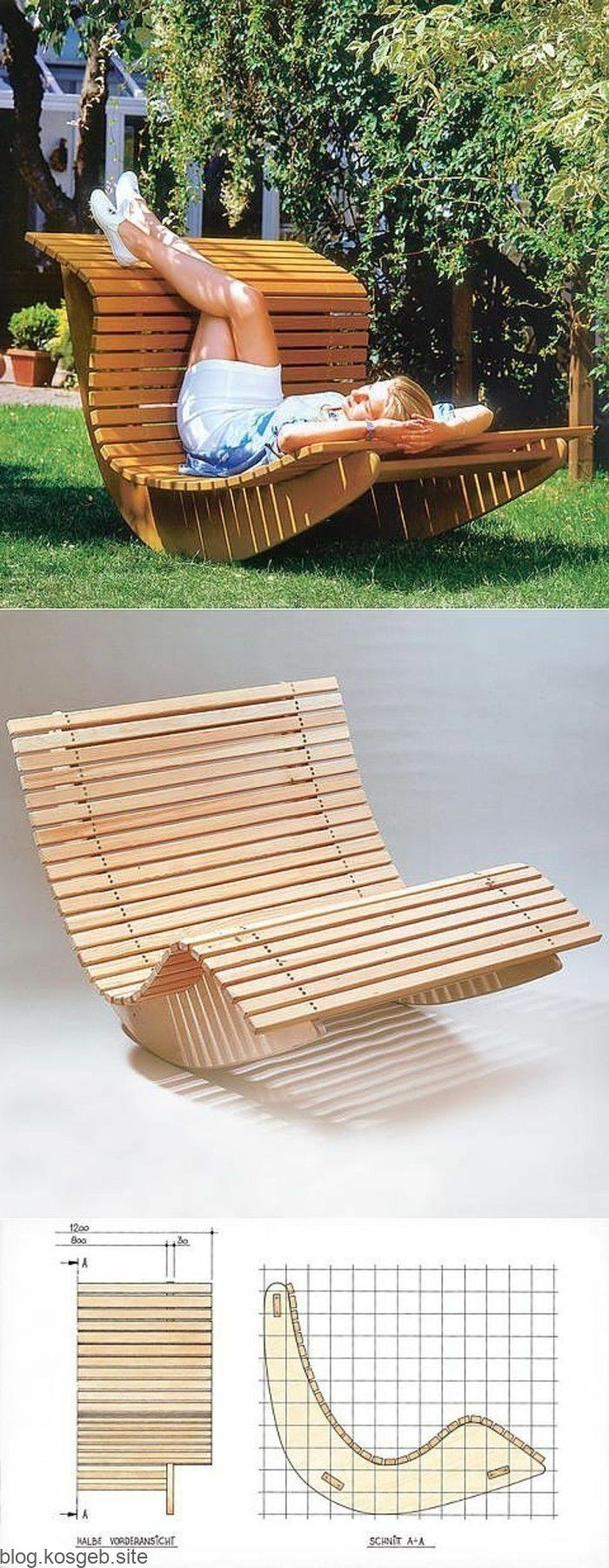 Bauen Sie Ihren Diy Sessel Selbst Aus Bauen Diysessel Holz Selber Anleitung Doityourself Europalette Eur Diy Tuinmeubilair Meubel Ideeën Hout Diy