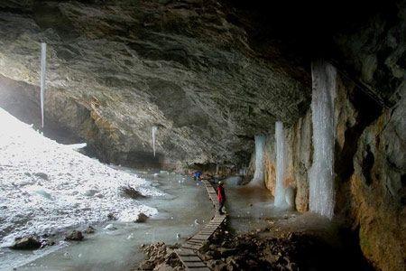 Eishöhle am Untersberg