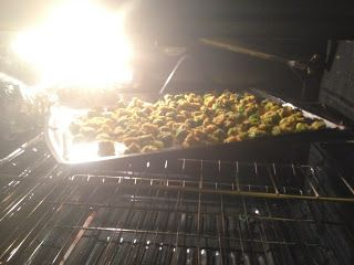 """Clean Feasting: Oven-Baked """"fried"""" Okra"""