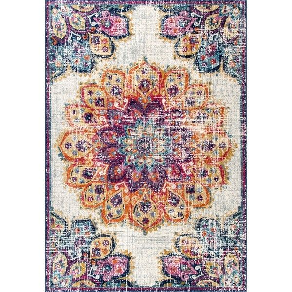 Overstock Com Online Shopping Bedding Furniture Electronics Jewelry Clothing More In 2020 Vintage Floral Rugs Floral Rug Floral Area Rugs