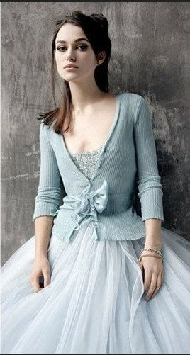 Pale Blue Tutu - Romantic Ballerina Tulle Skirt with Lining and Satin Sash by Anjou - Whimsical Wedding, Party, Formal, Holiday. $128.00, via Etsy.