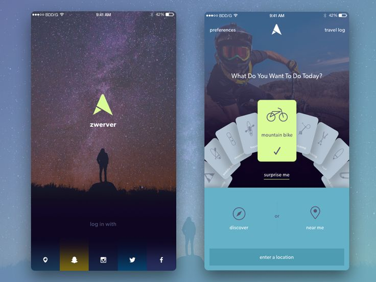 Zwerver Adventure App by Gregory - Dribbble