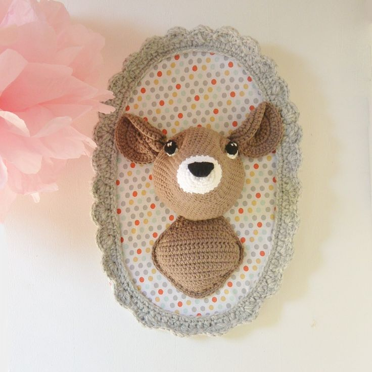 96 best Trophée animaux images on Pinterest | Amigurumi, Wall ...