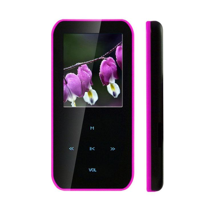 Latte iPearl S - Digital player - flash 4 GB - display: 1.8in - pink More Details