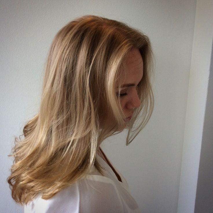 Light caramel balayage hair - vaaleanruskeat hiukset #balayage #lightbrownhair #lightcaramel