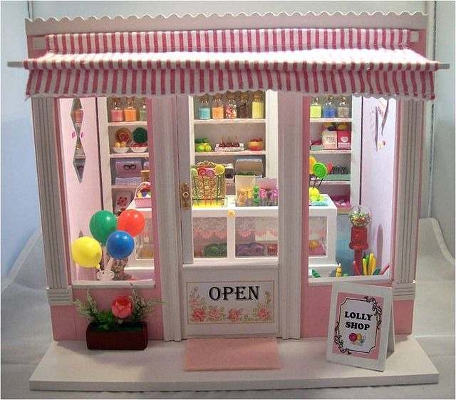 196 Best Miniature Candy Store Images On Pinterest