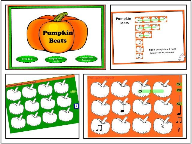 Musical Beat Activities for the SMARTBoard