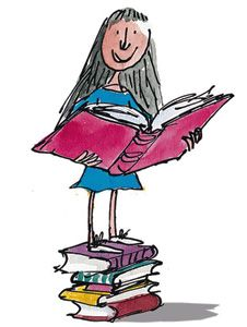 Matilda Wormwood, Matilda -- After Matilda whets her palate on The Secret Garden and Great Expectations, Roald Dahl lays it out for us.   --  Over the next six months, under Mrs. Phelps watchful and compassionate eye, Matilda read the following books:
