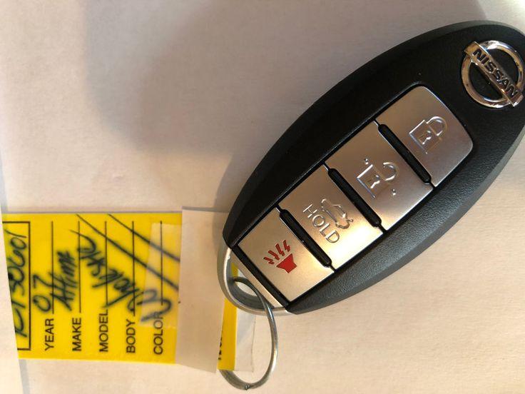 NISSAN MAXIMA ALTIMA 07-14 OEM SMART KEY LESS REMOTE FOB with Key inside