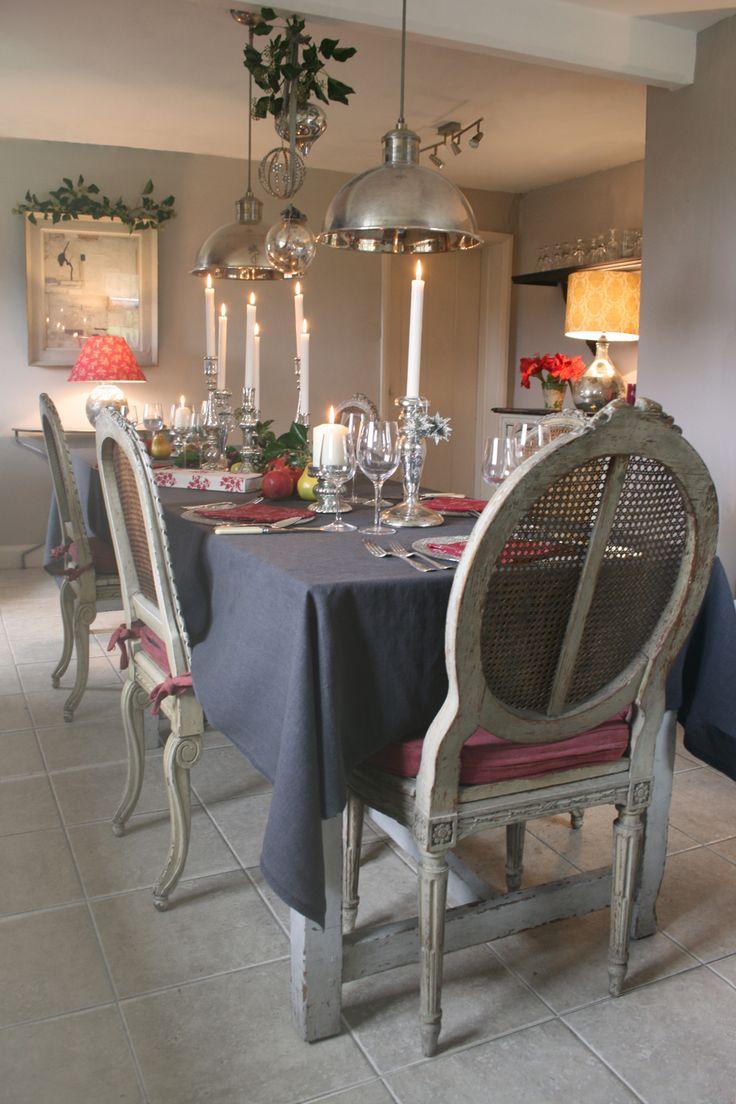 Kate Forman Christmas Dining Room