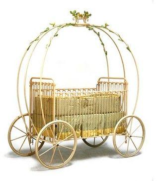 Cinderella Carriage Crib eclectic cribs