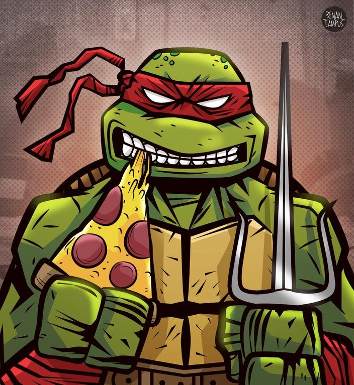 Images Of Raphael Ninja Turtle