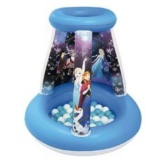 Disney Frozen Inflatable Playland with 15 Balls