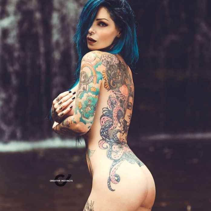female tattoo models