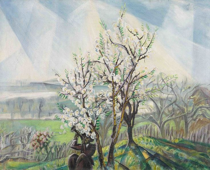 File:Tibor Boromisza - Early Spring near Szentendre 64,5x82,5 oil on canvas 1925.jpg