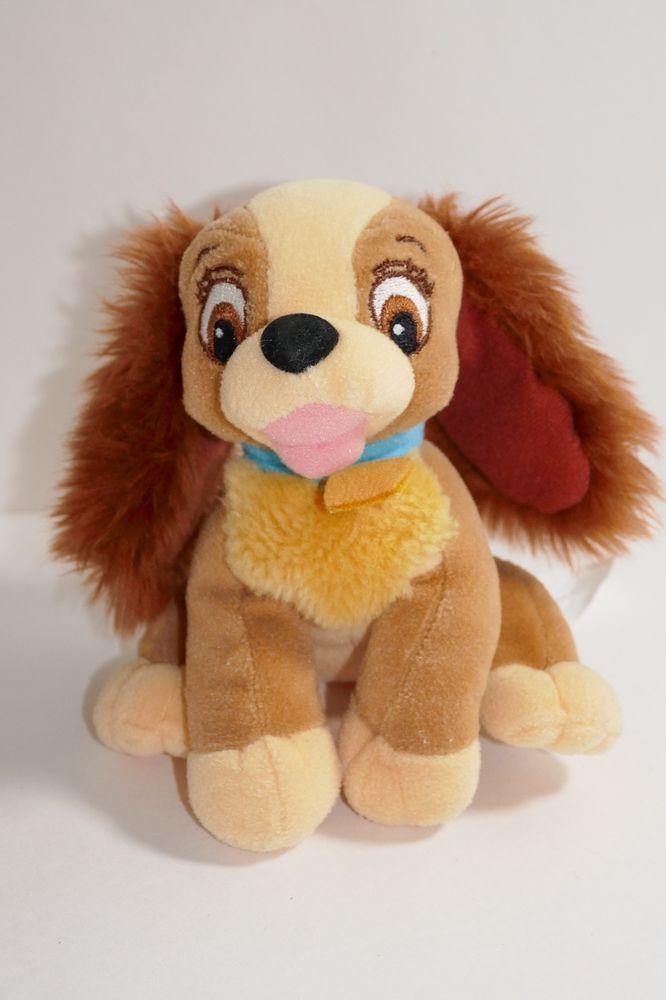 Disney Lady And The Tramp Puppy Dog 5 Plush Toy Stuffed Animal