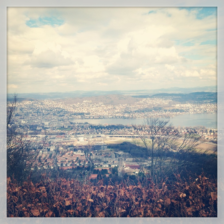 View from Uetliberg, Zurich