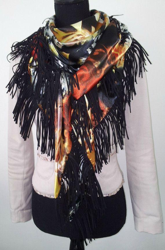BoHo Chic shawl by Beadsagogo on Etsy, $55.00