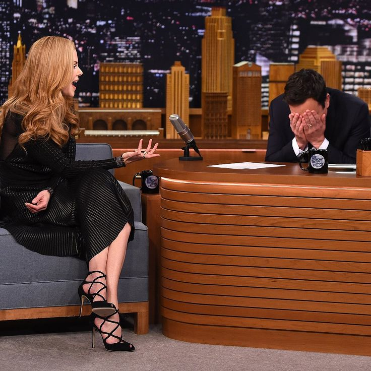 FUNNIEST SEGMENT EVER!!!  Jimmy Fallon Finds Out That He Totally Had a Chance With Nicole Kidman