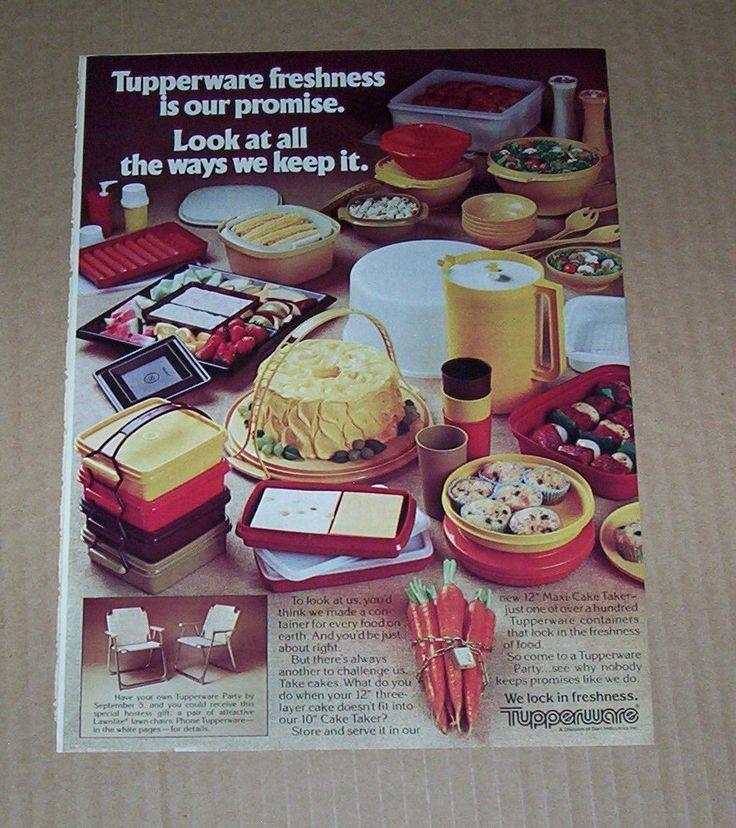 1981 Tupperware Ad
