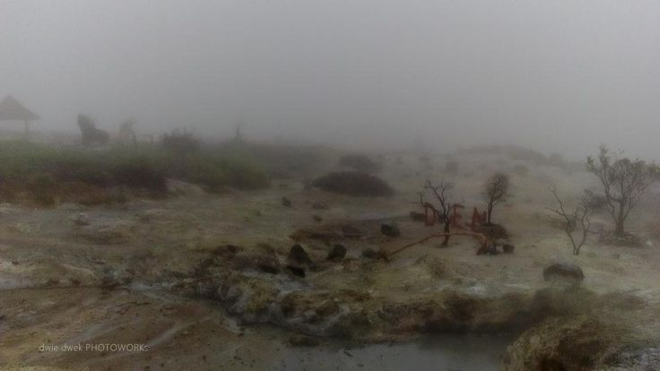 kawah Sikidang , Dieng