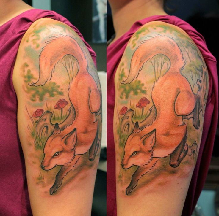 318 Best Tattoos - Foxes Images On Pinterest