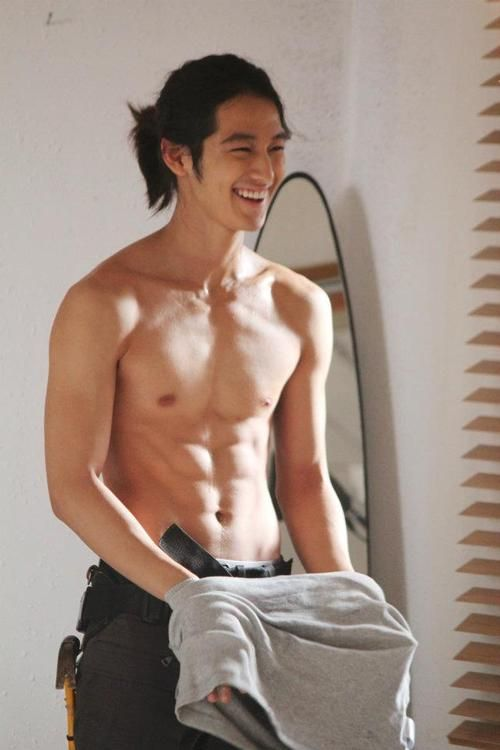 Kim Bum. How cute is his smile??? But still so amazingly drool-worthy.