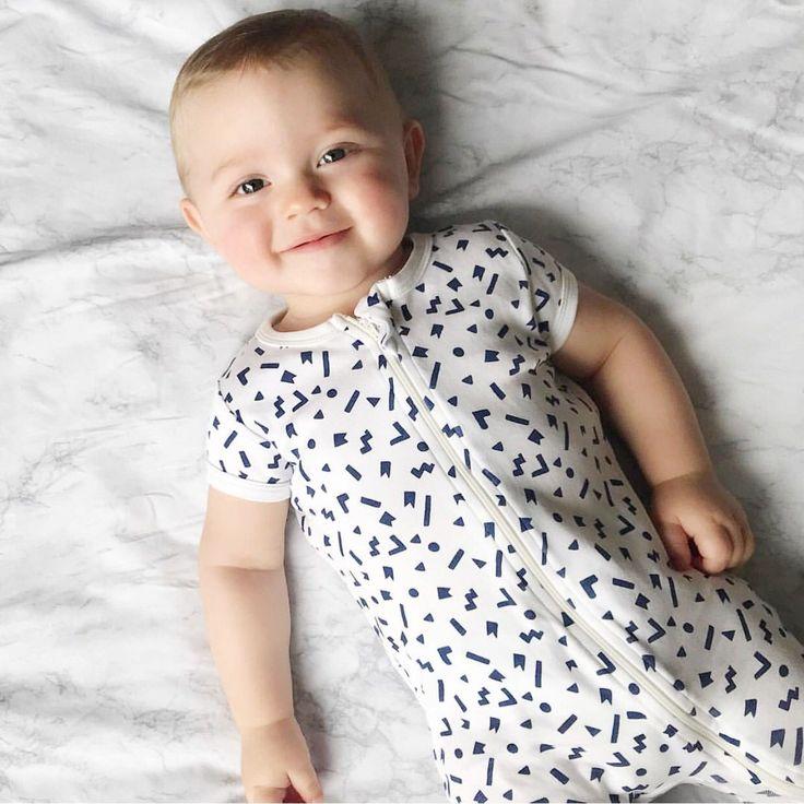 Rise and shine in our Geo Play zipsuit  #wilsonandfrenchy #babystyle #babyboy #newborn #baby #fashion #unisex #babylove #perfectbabies  #unisexbabyclothes  #newmum #babygift #babyshower #australiandesign #shopbaby #mumsunite #babylove #magicofchildhood #little