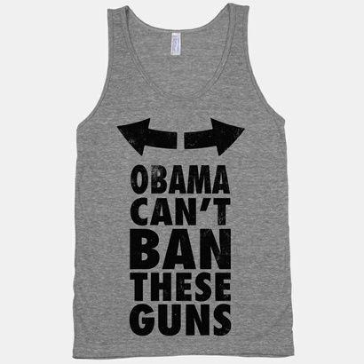 Obama Cant Ban These Guns! Haha I want this!
