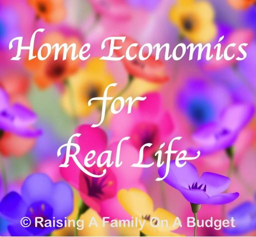 Home Economics for Real Life | RAFOAB