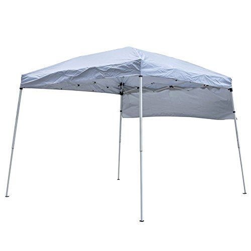 Sundale Outdoor Folding Canopy Pop Up Shelter Shade Pavilion Patio (Silver White) For Sale https://patioumbrellasusa.info/sundale-outdoor-folding-canopy-pop-up-shelter-shade-pavilion-patio-silver-white-for-sale/