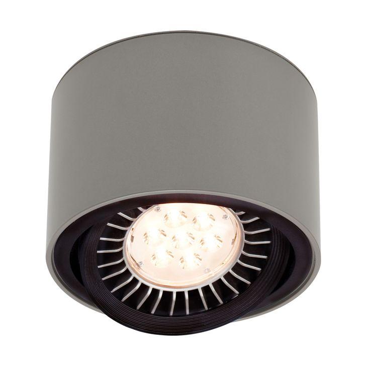 111er LED Wand- und Deckenleuchte 18 W graumetallic Jetzt bestellen unter: https://moebel.ladendirekt.de/lampen/deckenleuchten/deckenlampen/?uid=fef1707e-d6c2-5596-b68e-1f65a1c638da&utm_source=pinterest&utm_medium=pin&utm_campaign=boards #deckenleuchten #leuchten #lampen #deckenlampen