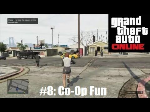 GTA V Online #8 | 'Your Attitude Disappoints Me' - Coop Mission Fun Myself, Ste, James and Michael pratting about and getting some PAPER. Follow me on Twitter http://www.twitter.com/zebstrikaX_ing
