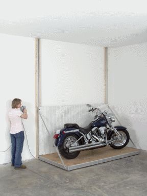 Best 25 atv racks ideas on pinterest bicycle storage for Garage daf tours