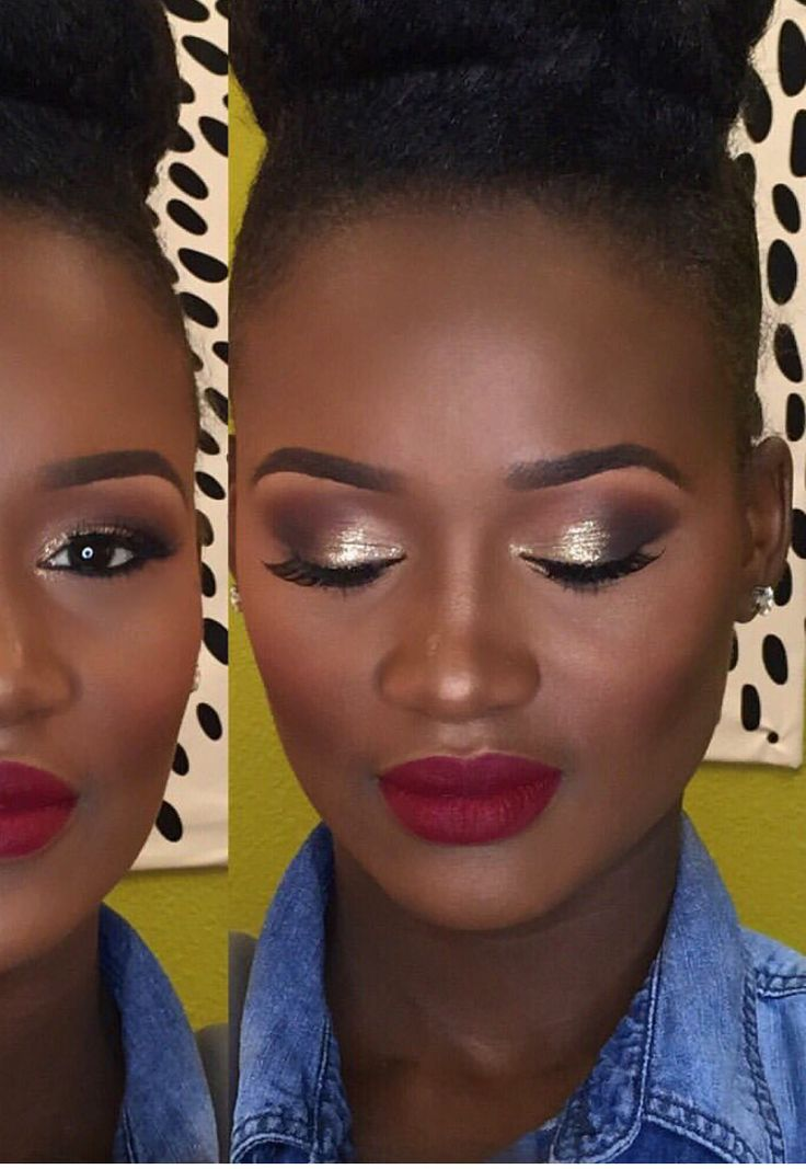 Makeup for melanin skin. DFW MUA!  Miles of Beauty will come to you! Text Crystal for your consultation 325.864.3655 #marcynevents