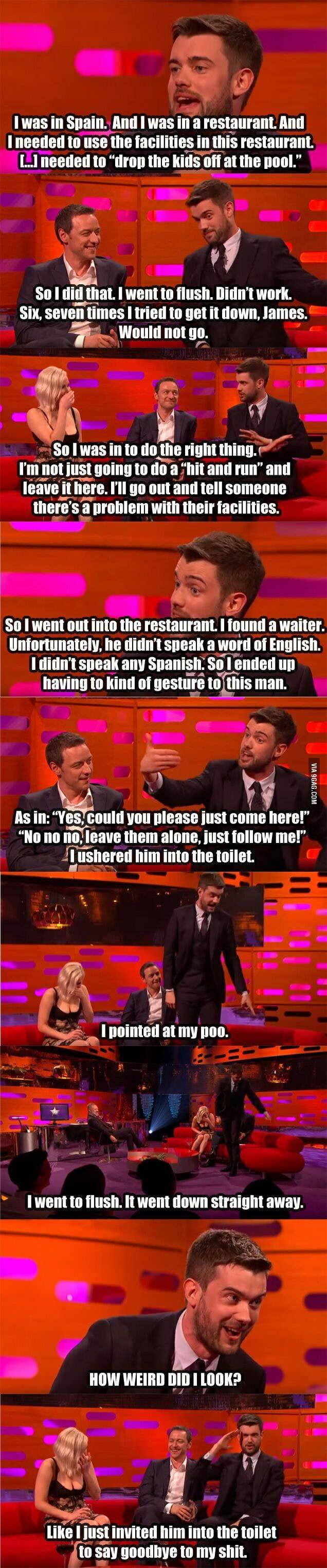 The best language barrier story! - 9GAG